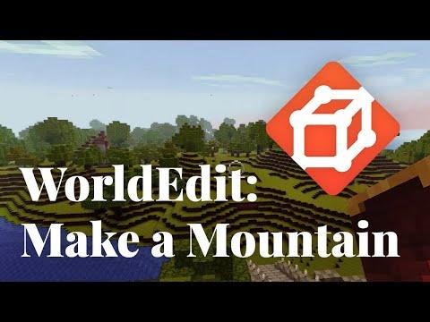 worldedit, making mountains, and smooth jazz