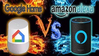 Amazon Echo ou Google Home?