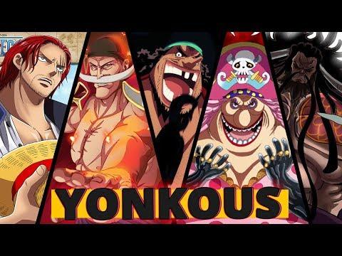 ONE PIECE: 10 CURIOSIDADES SOBRE OS YONKOUS  Player Solo