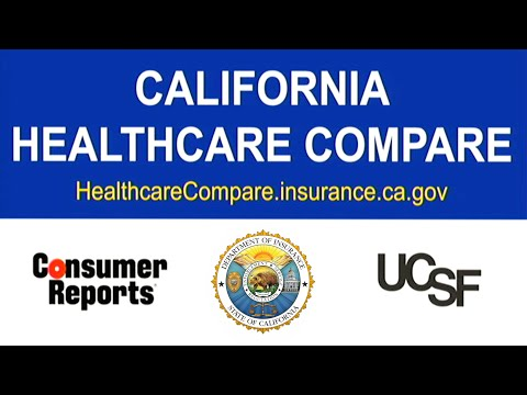 California Healthcare Compare Website Press Conference