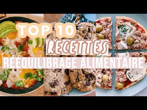 🍕🍪top-10-recettes-100%-healthy-et-gourmandes-//-spéciales-rÉÉquilibrage-alimentaire