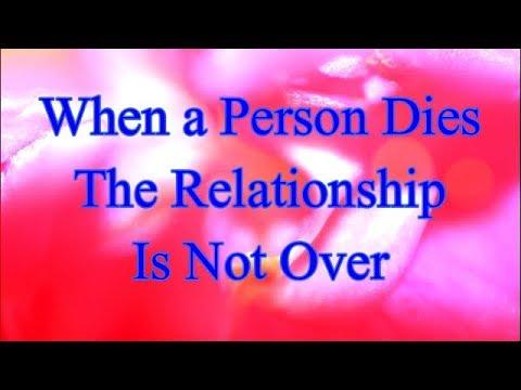 when a relationship dies