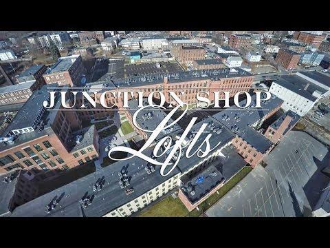 video of the junction shop lofts | loft rentals | worcester