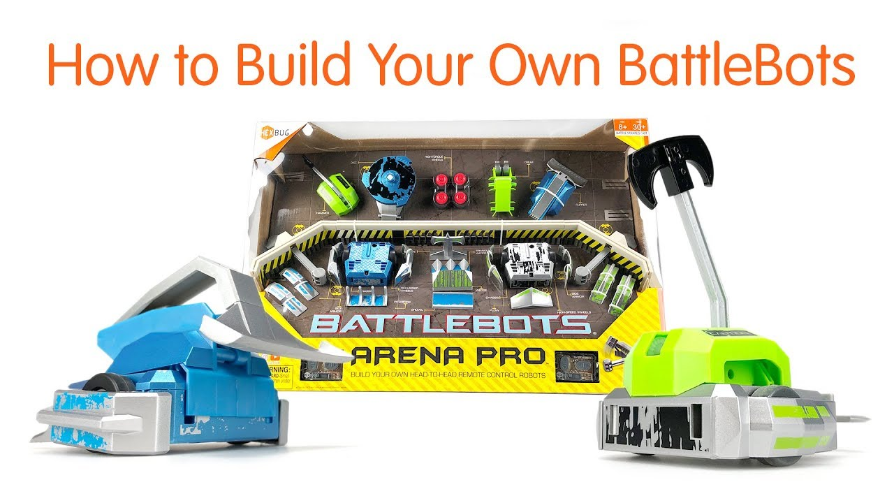 How to Build Your Own BattleBots
