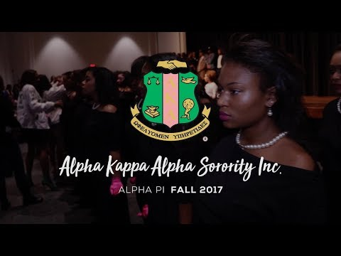 Alpha Kappa Alpha: Alpha Pi Chapter - Fall 2017 Probate (CAU) [Short Version]