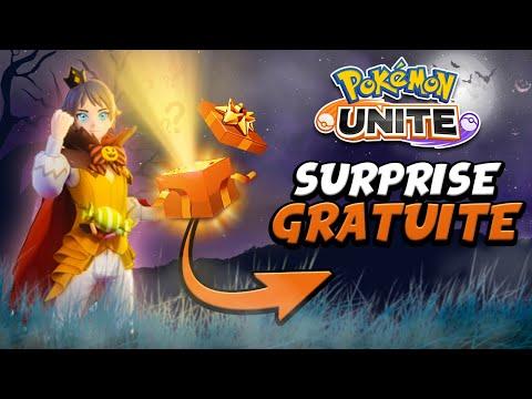 Obtenir GRATUITEMENT un NOUVEAU COMBATTANT sur Pokémon Unite ! (Festival d'Halloween & Skins)
