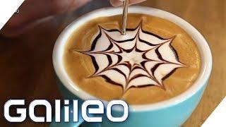 Die Latte-Art-WM in Budapest   Galileo   ProSieben