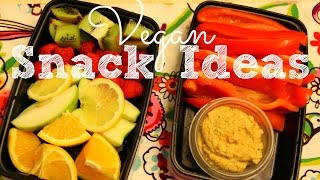 Quick and Healthy Vegan Snacks  Meal Prep Series