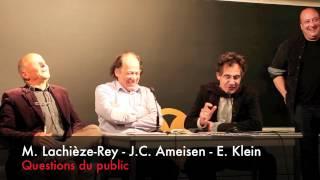 Le Vivant et le Temps - Questions du public - 3 mai 2012 - ENS