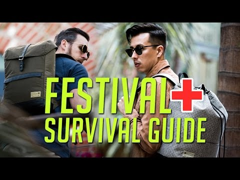 Staying A: 2017 Music Festival Survival Guide  Gents Lounge
