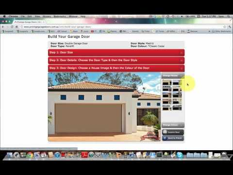 Prestige garage doors garage door design software for Garage building software
