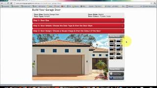 Prestige Garage Doors - Garage Door Design Software Tutorial