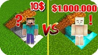 TROLL BEBEK ZENGİN VS FAKİR YERALTI GİZLİ GEÇİŞİNİ BULDU! 😱 Minecraft