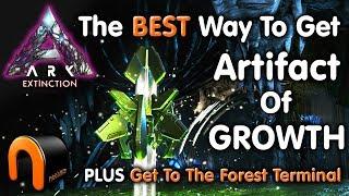 ARK Extinction ARTIFACT OF GROWTH & Forest Titan Terminal