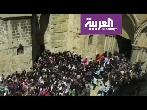 انخفاض أعداد المسيحيين فى مدينة القدس إلى 4 آلاف شخص