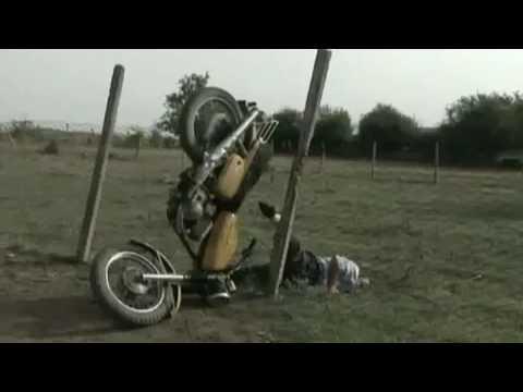 Azerbaijan funny Moto biker