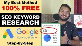 FREE Keyword Research for SEO 2019 in Hindi - KEYWORDS REVEALED