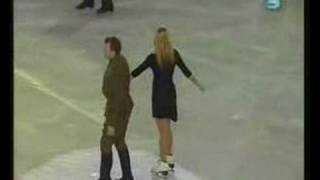 Звезды на Льду в Израиле - Татьяна Навка и Марат Башаров