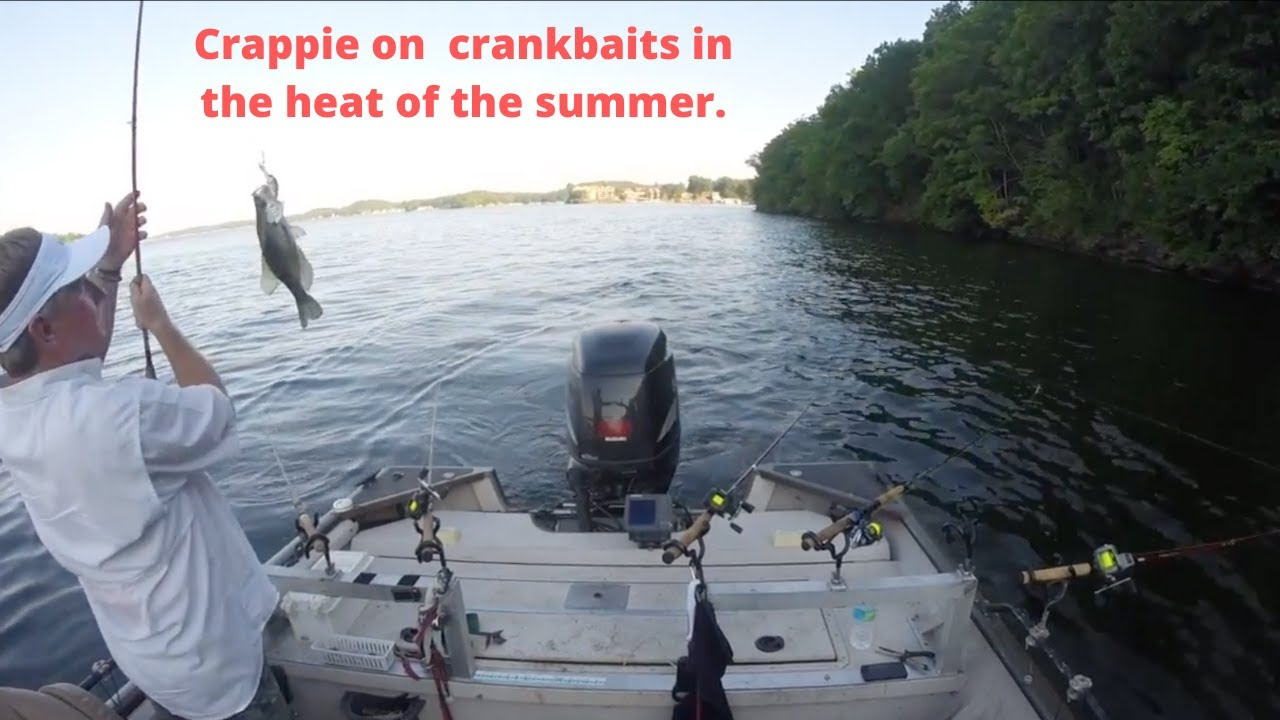Trolling crankbaits for crappie on lake of the ozarks 2 for Crappie fishing lake of the ozarks