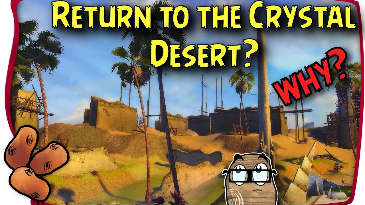 Guild Wars 2 - Why the Crystal Desert?! | How Does the ... Quartz Crystal Gw2