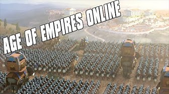 Age of Empires Online - Egyptian Empire Rises! - Four Player Free For All