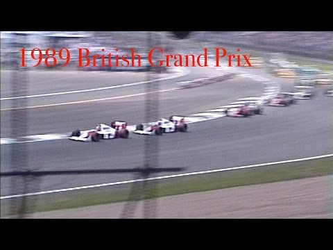 1989 British Grand Prix - Best F1 sounds ever!