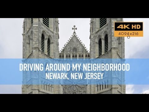 Driving around my neighborhood in Newark, New Jersey in 4K