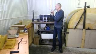 Свечной станок барабанного типа , автоматическая линия для производства церковных свечей(Рекомендации нашего клиента , на видео видно сколько станок выдает свечей в минуту - приблизительно 2 минуты..., 2014-01-14T16:19:46.000Z)