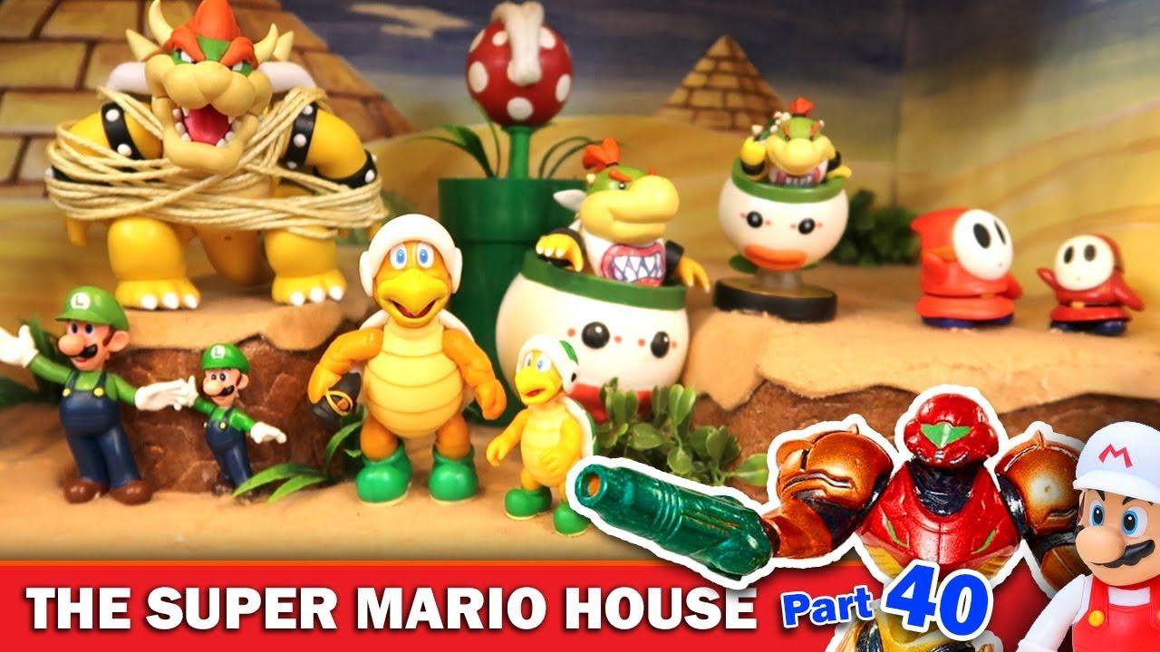 The Super Mario House (Part 40) - Metroid Clone Invasion!
