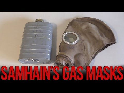 Противогазы ВОВ: ШМ-1 и МОД О-8 | Soviet WW2 gas masks