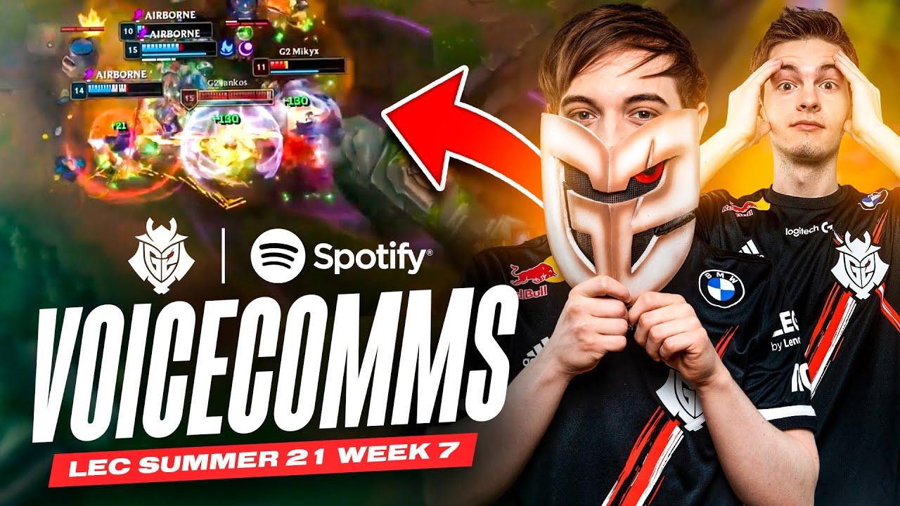 Mikyx flamed Caps! | LEC 2021 Summer Week 7 Voicecomms