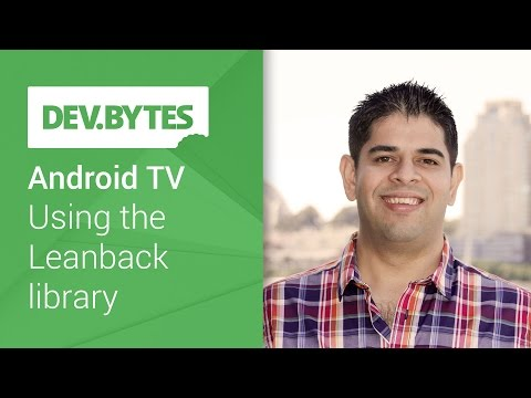 Android TV: Using the Leanback library Mp3