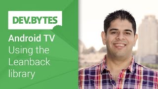 Android TV: Using the Leanback library