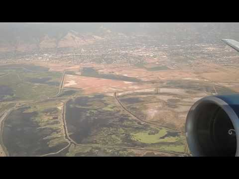 Takeoff from Salt Lake City International Airport