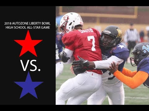 AutoZone Liberty Bowl High School All-Star Game football ...