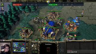 WFZ (UD) vs Focus (ORC) - WarCraft 3 - WC####