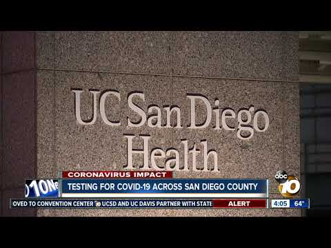 Testing For COVID-19 Across San Diego County