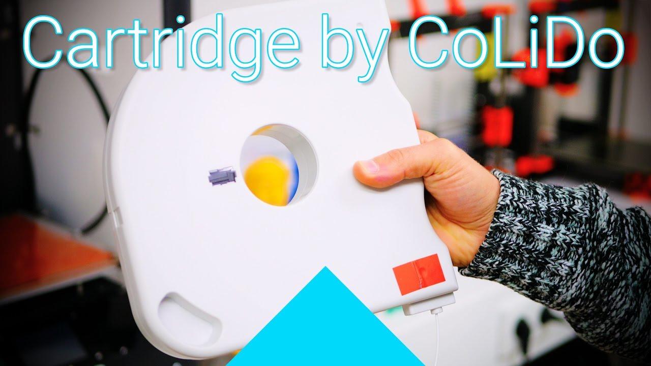 Cheap Cartridge Filament CoLiDo PLA Review Filaween