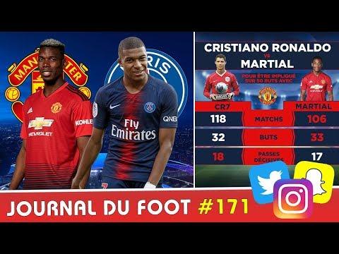 MARTIAL fait mieux que Cristiano RONALDO, votre prono pour Manchester United - PSG ?