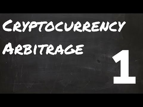 How to arbitrage cryptocurrency? | Cryptocurrency arbitrage bot - Part 1
