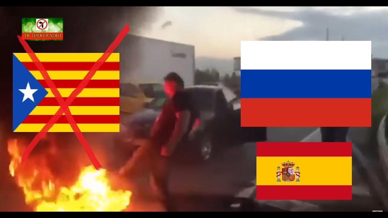 КАТАЛОНИЯ - РУССКИЙ ВСТУПАЕТСЯ ЗА ИСПАНЦЕВ!!!