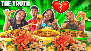 MACEI EXPOSED THE TRUTH ABOUT HER RELATIONSHIP WITH BAM!💔 *SEAFOOD MUKBANG*