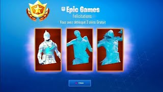 PLAYERS ARE FREE 3 SKINS FOR NOEL ON FORTNITE Battle Royale! 😱
