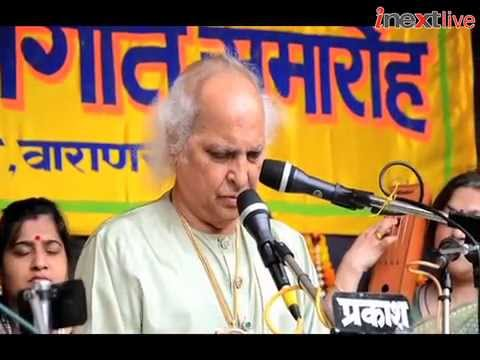 Pt. Jasraj performs at Sankat Mochan Music Festival
