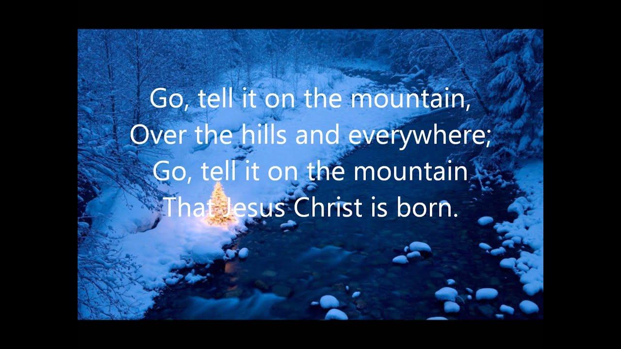 Cedarmont Kids - Go Tell It On The Mountain with Lyrics - YouTube