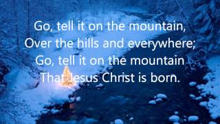 Cedarmont Kids - Go Tell It On The Mountain with Lyrics