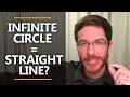 Gambar cover Infinite Circle = Straight Line?