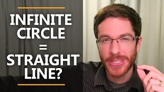 Infinite Circle = Straight Line?