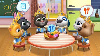 MY TALKING TOM FRIENDS 🐱 ANDROID GAMEPLAY #107 -TALKING TOM AND FRIENDS BY OUTFIT