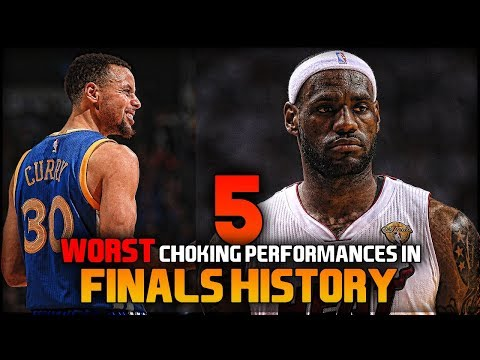 5 of the WORST CHOKING PERFORMANCES in NBA Finals HISTORY